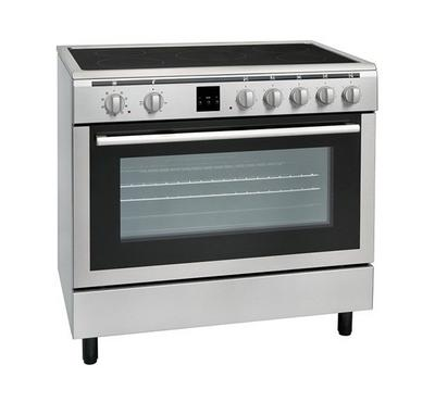 Hoover 90x60 Vetro Ceramic Cooking Range Stainless Steel