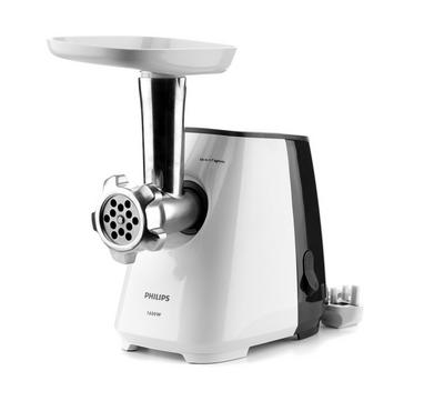 Philips Daily Collection Meat Mincer, Wattage 1600W Grey/White