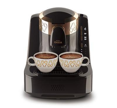 Arzum OKKA 950ml Automatic Turkish Coffee Machine 710W Gold/Black.