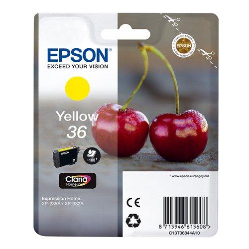 Epson Ink Cartridge 36 For XP-332A, Yellow