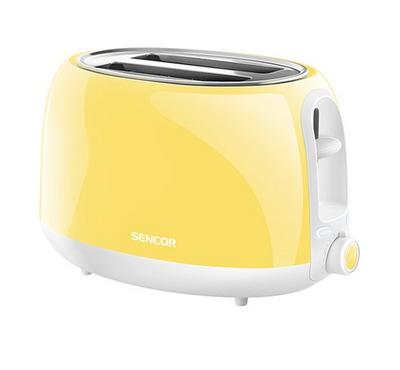Sencor PASTELS COLLECTION 2s Slice Toaster 800W Yellow