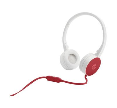 HP Stereo Headset cardinal Red
