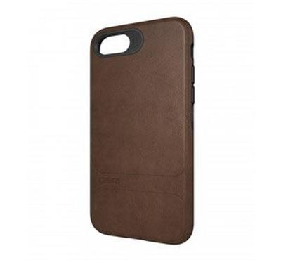 GEAR4 D3O Leather Mayfair Case for iPhone 7, Brown