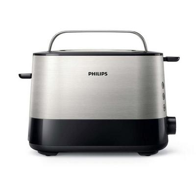Philips Viva Metal Toaster 2 Slots 1000W
