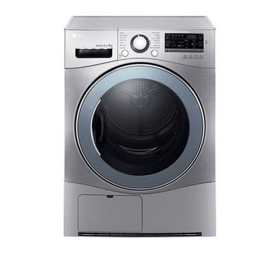 LG Dryer 9 kg 14 Programs, Smart Diagnosis, White