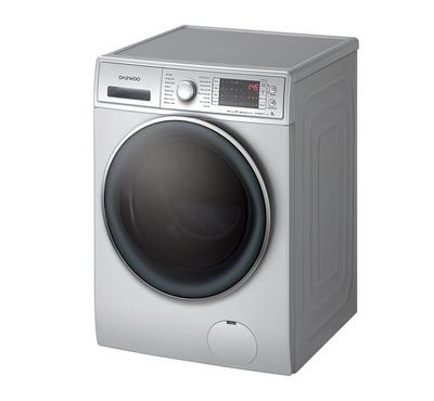 Daewoo WM 9/6 kg Front Loading Washer and 6 Kg Dryer