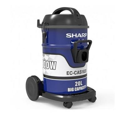 Sharp Vacuum Cleaner Drum 20L 1800W Blue