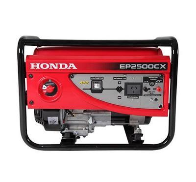 هوند مولد كهربائي محمول، 14.5 لتر، 2500 واط، أحمر.