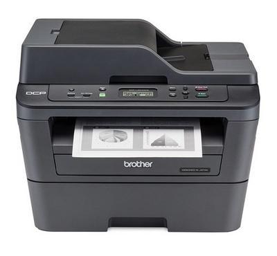 BROTHER MFT Laser Printer, Print-Scan-Copy, Black/White