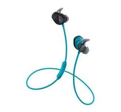 Bose SoundSport Wireless Headphones, In Ear, Aqua