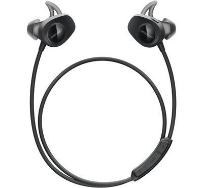 Bose SoundSport Wireless Headphones, In Ear, Microphone, Black