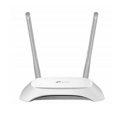 TP Link Wireless N Router 300 Mbps 2.4 GHz, 2 Antenna, 4 LAN Ports, 1 WAN Port