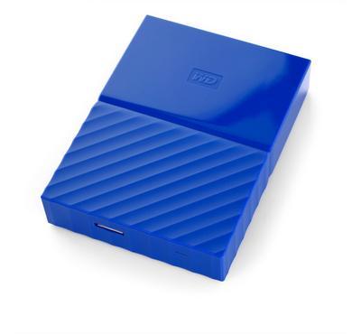 WESTERN DIGITAL My Passport 4TB, USB 3.0, Blue