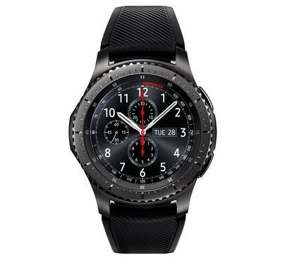سامسونج ساعة ذكية جير إس 3 فرونتير رمادي