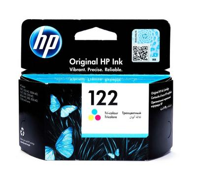 HP 122 Tri- Colour Original Ink Cartridge
