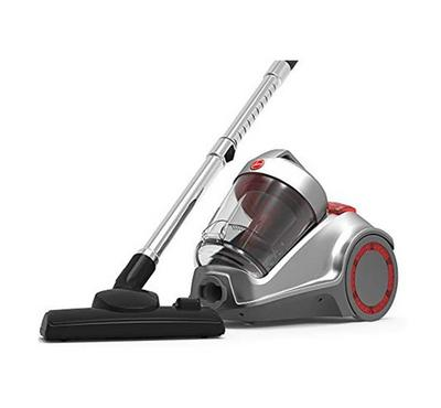 Hoover Canister Vacuum Cleaner 2200W, 3 L Bin Capacity,Silver\Red