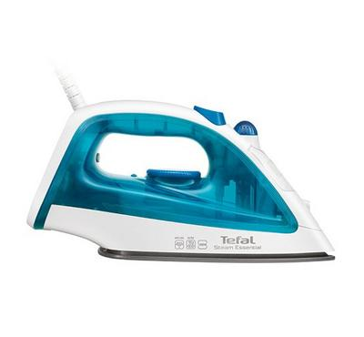 Tefal Steam Iron 1200 W, Non-stick Soleplate, Blue