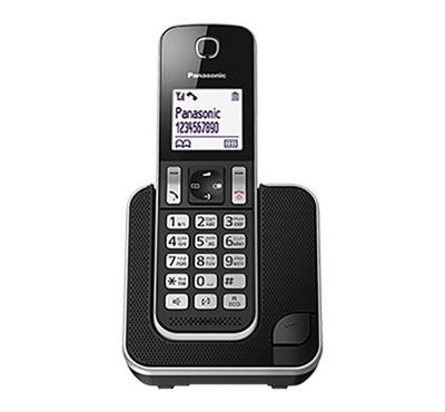 Panasonic Cordless Phone with Caller ID Black