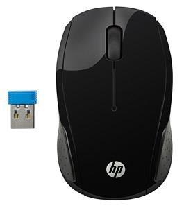 HP 200 Wireless PC Mouse Black