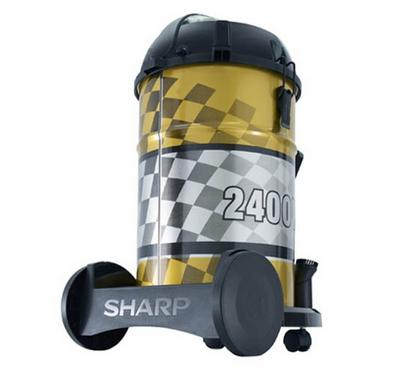 Sharp 22L Vacuum Cleaner Drum Type 2400W Gold
