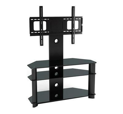 Hama 32-48 LCD/LED TV Bracket Stand Glass Black. Tilt,3Layer