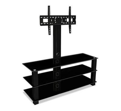 Hama 32-55 LCD/LED TV Bracket Stand Glass Black. Tilt,3Layer