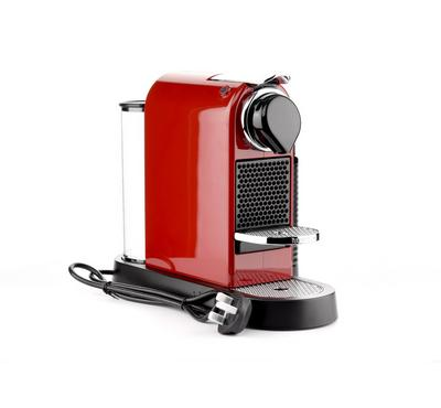 Nespresso Coffee Machine Citiz and Milk, Red