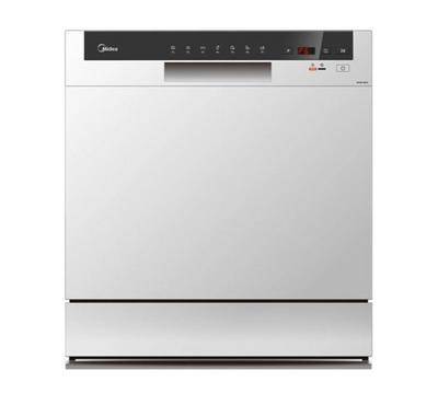 Midea 8 Place Dishwasher Silver. 7 Programs, Digital LED