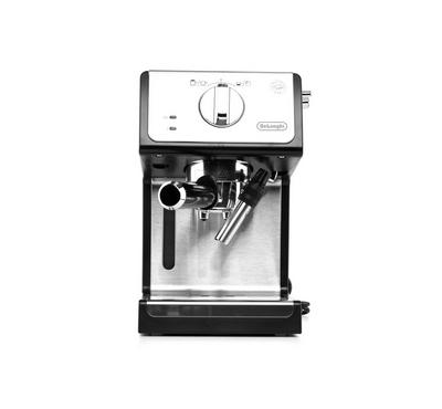 Delonghi Espresso Maker stainless steel boiler, Transparent and removable water reservoir