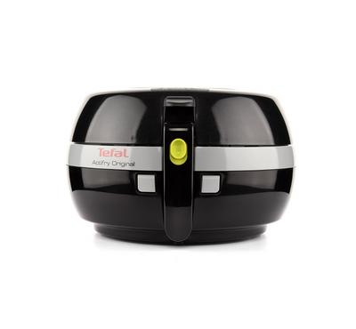 Tefal low fat electric fryer, 1400 Watts, capacity 1kg, Removable Bowl, timer, Handle up Basket