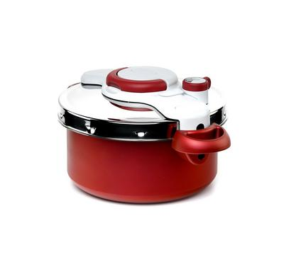 Tefal Pressure Cooker, 6 Cooking Programs,Rio Red