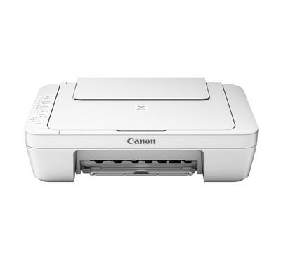 Canon PIXMA MG2540S Inkjet color Printer - Print-Copy-Scan, White
