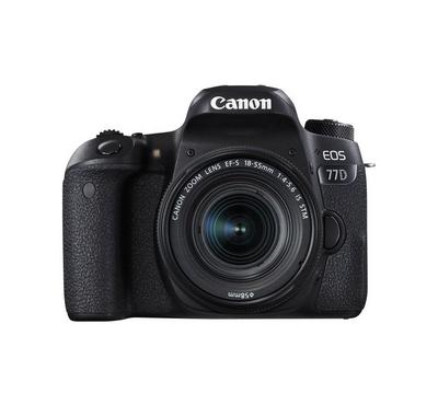CANON EOS 77D, 24.2 Megpixels, WiFi, Touch Screen, Black