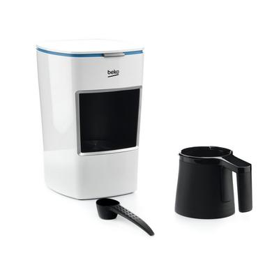 Beko Turkish Coffee Maker, Single Deck, 220V, White