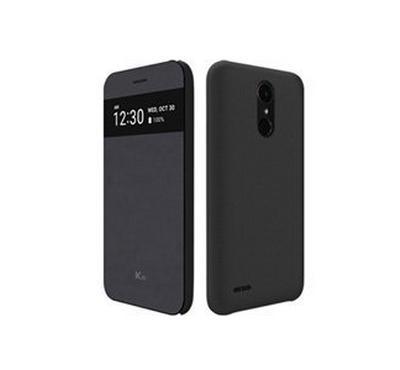 ال جي جراب حمايه كويك لهاتف كي10 2017, اللون أسود