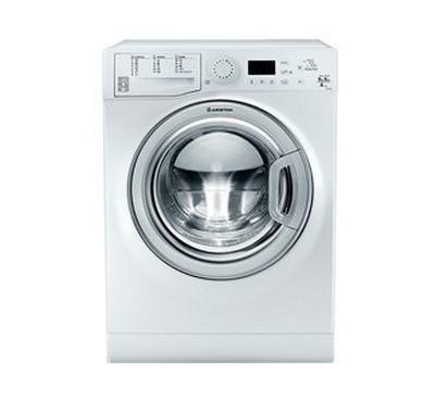 Ariston Front Load Washer/Dryer, 9/6KG, White