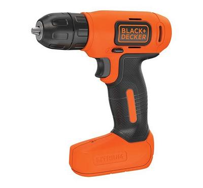 Black and Decker Cordless Lithium 7.2V Compact Drill