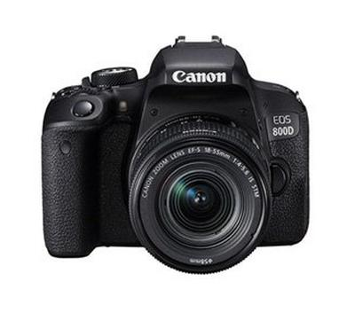 EOS 800D 18-55 Canon DSLR Camera, 24MP, Dual Pixel CMOS