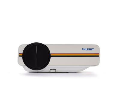 PHLIGHT YG400 LED Projector Support 1080P SD HDMI VGA AV USB micro SD HDMI VGA AV USB Home Cinema