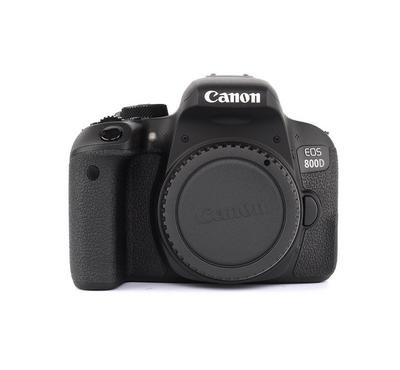 CANON EOS 800D, 24 Mega Pixels, 1/4000 Shutter Speed, WiFi, NFC, Full HD VIDEO, Black