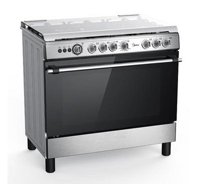 Midea 90x60cm Gas Cooking Range Full Safety Stainless