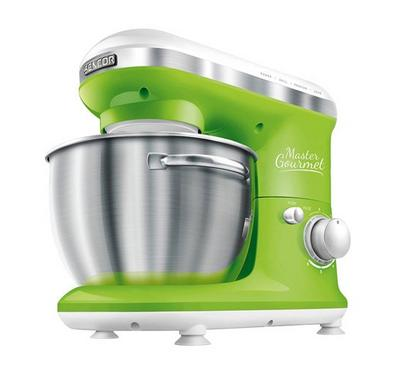 Sencor Master Gourmet, Kitchen Machine Bowl Mixer 600W, Green