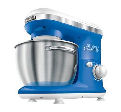 Sencor MASTER GOURMET Kitchen Machine Bowl Mixer 600W Blue