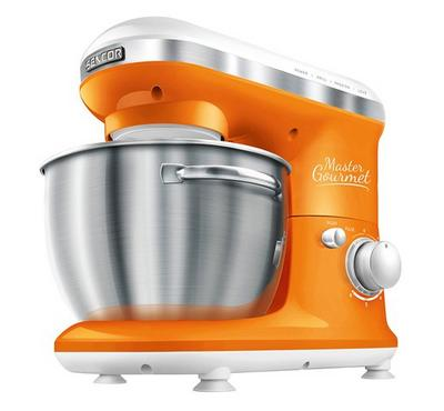 Sencor MASTER GOURMET Kitchen Machine Bowl Mixer 600W Orange