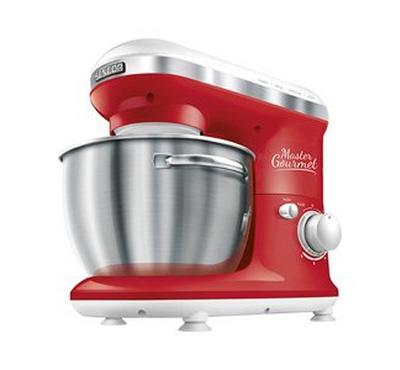 Sencor MASTER GOURMET Kitchen Machine Bowl Mixer 600W Red