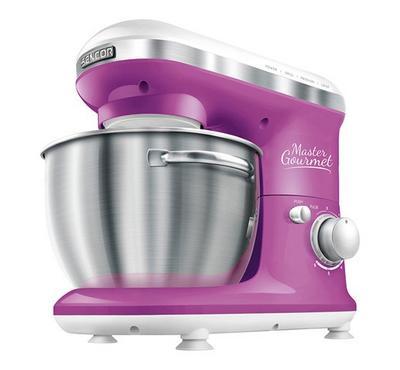 Sencor Master Gourmet Kitchen Machine Bowl Mixer 600W Violet