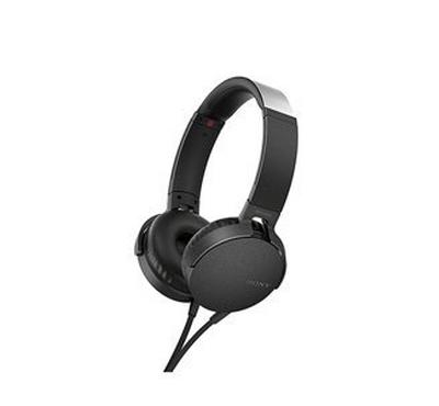 SONY XB550AP Extra Bass Headphones, Black