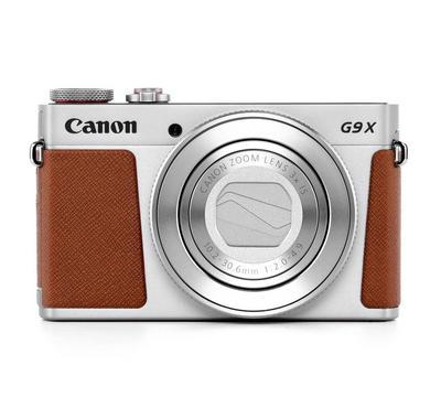 "CANON PowerShot G9, 20.1 Mega Pixels, 3X Optical Zoom, Full HD Video, 3"" LCD, Silver"