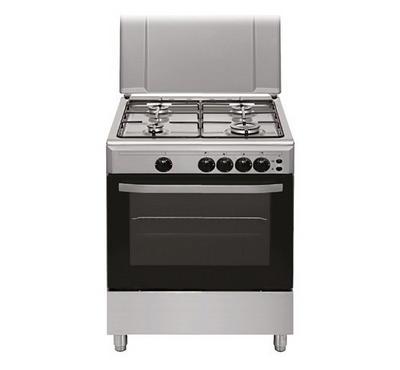 Fratelli Onofri 60x60cm Gas Cooking Range Normal Safety Inox