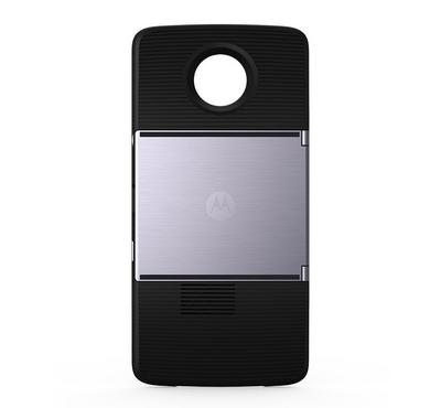 Moto Insta-Share Projector, for Motorola Moto Z, Black